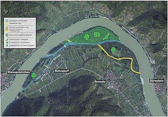 Wachau Karte Donau.Region Wachau Life Projekt Auenwildnis Wachau